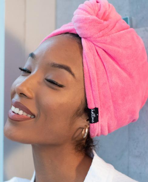 Towel Twist *Final Sale* - Hot Pink