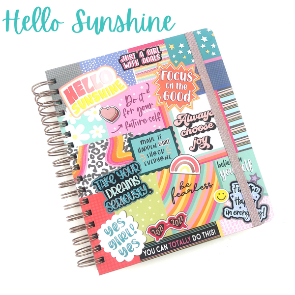 A New Year Planner *Final Sale* - Hello Sunshine