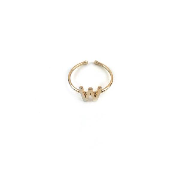 Initial Adjustable Rings *Final Sale*