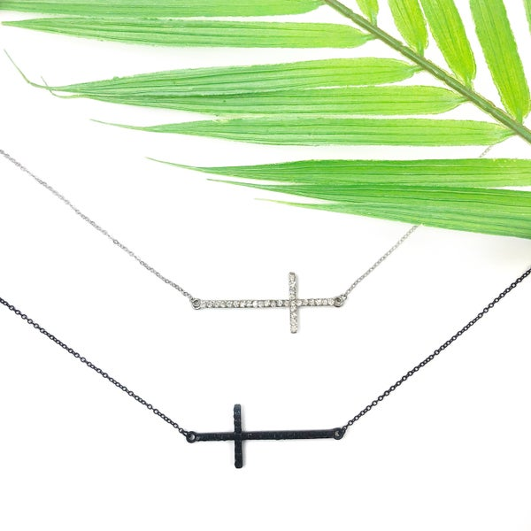 Find The Way Cross Necklace *Final Sale*