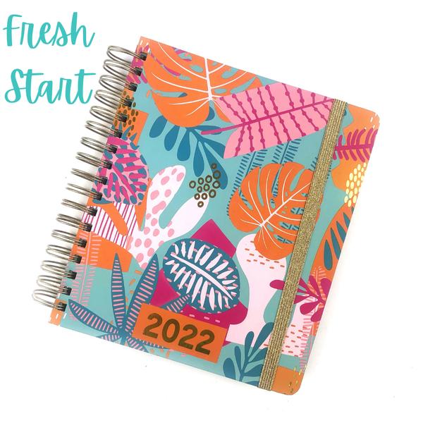 A New Year Planner *Final Sale* - Fresh Start