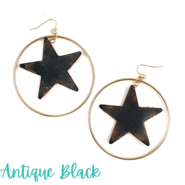 Star Spangled Hoop *Final Sale* - Antique Black