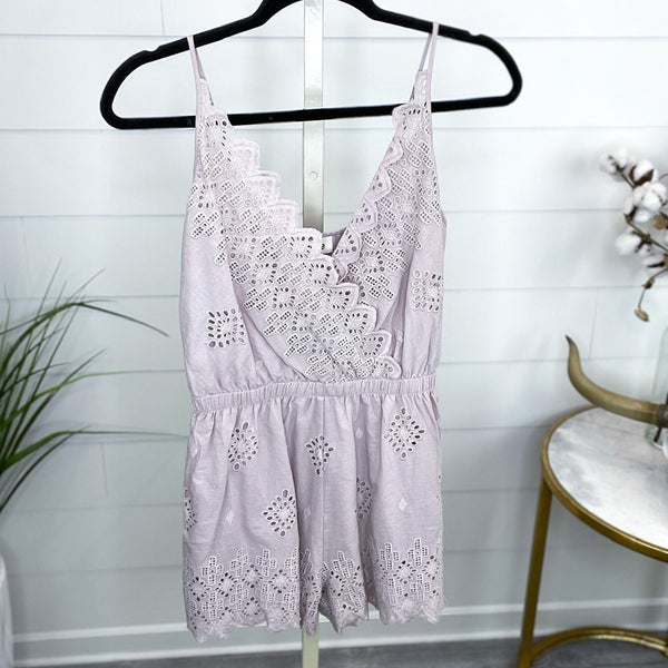 Playing It Cool Romper - FINAL SALE