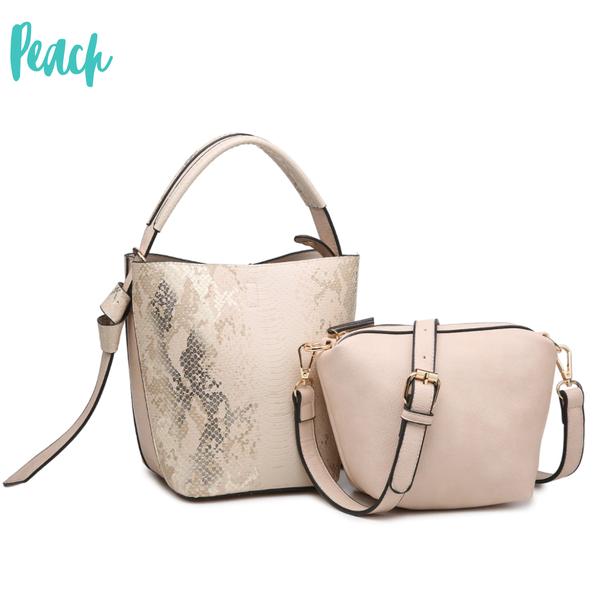 Giselle Convertible Mini Bucket Bag w/ Inside Crossbody *Final Sale*