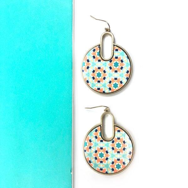 Mosaic Feelings Earrings *Final Sale*