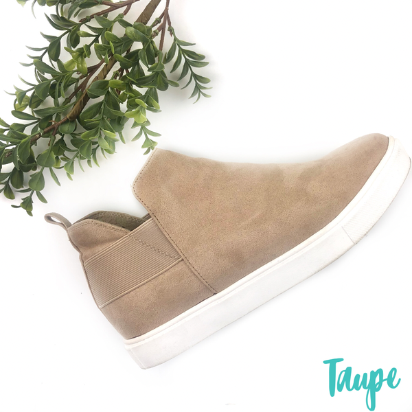 Let's get steppin Sneakers - Taupe