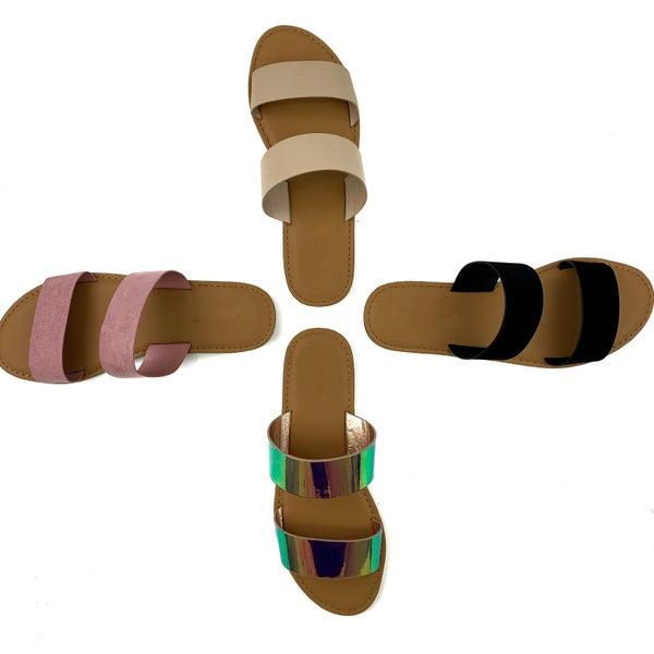 Set the Standard Sandals -FINAL SALE