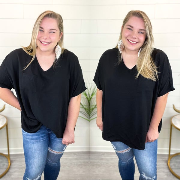 Chase The Moment Top - Black