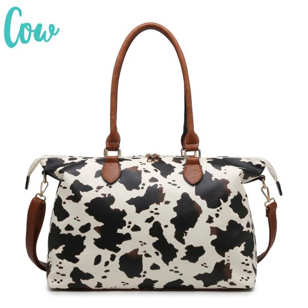 The Weekender Duffle Bag *Final Sale* - Cow