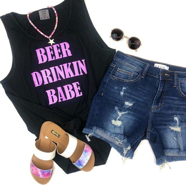 Beer Drinkin' Babe Tank Top *Final Sale*