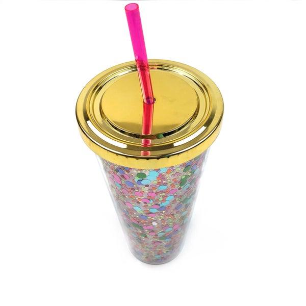 Spiced Girl Confetti Tumbler *Final Sale*