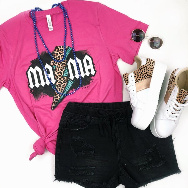 MAMA Lightening Bolt Tshirt