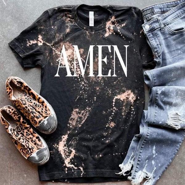 Bleached Amen T-Shirt *Final Sale*