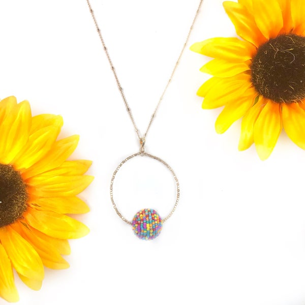 Have a Ball Necklace *Final Sale*