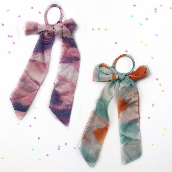 Tie-Dye Hair Scarf - FINAL SALE