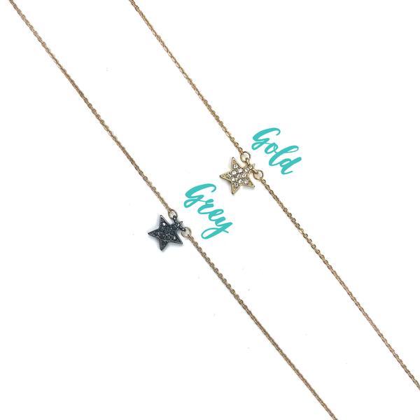 Dainty Star Necklace *Final Sale*