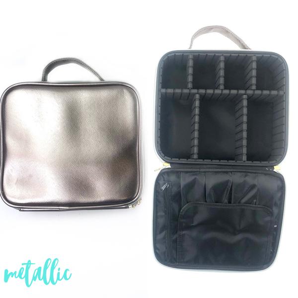 Makeup Case 2.0 *Final Sale* - Metallic