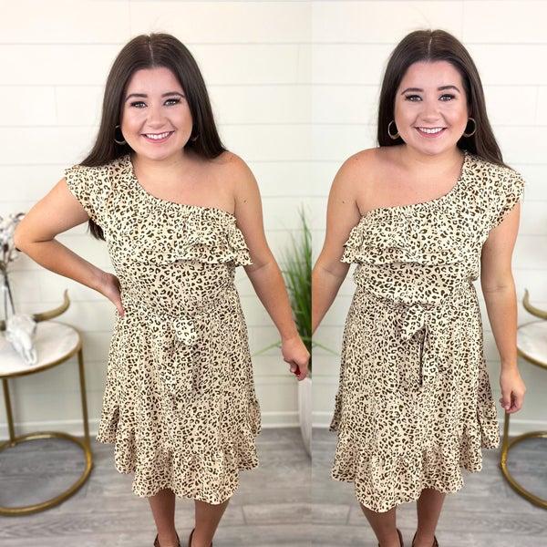 Uptown Vibes One Shoulder Dress