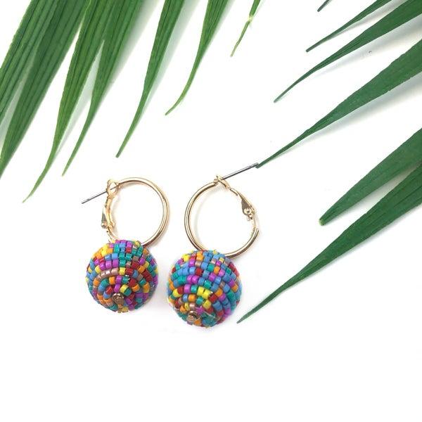 A Ball of Joy Earrings *Final Sale*
