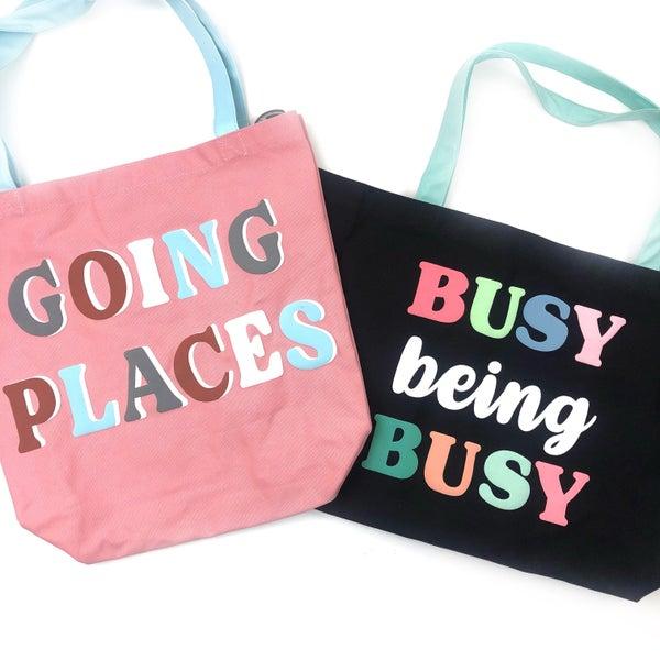Keep Me Busy Tote Bag