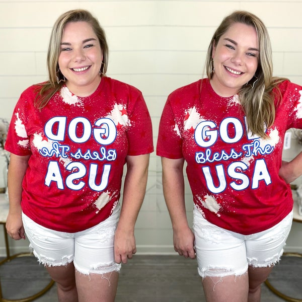 God Bless the Usa Tshirt *Final Sale*