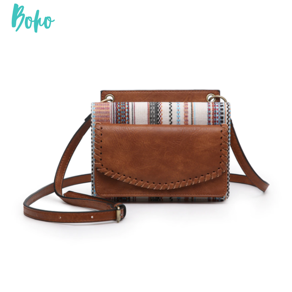 Evelyn Crossbody/Wallet with Whipstitch *Final Sale* - Boho