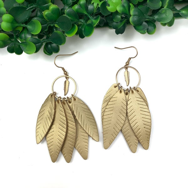 Totally Worth It Feather Earrings