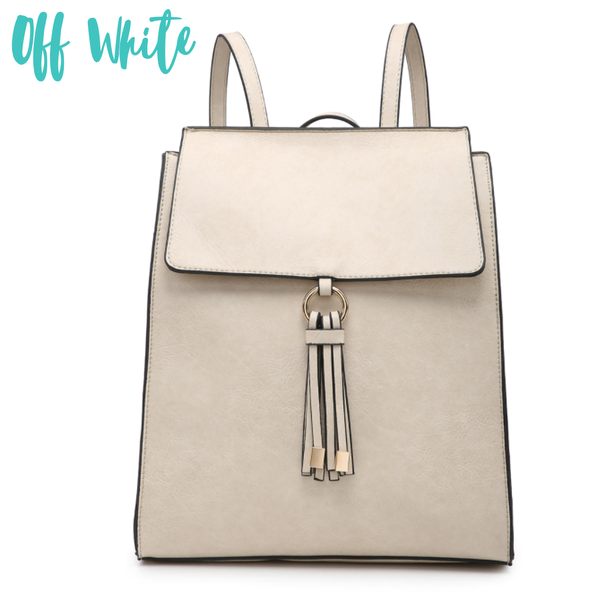 The Elena Structured Backpack *Final Sale*