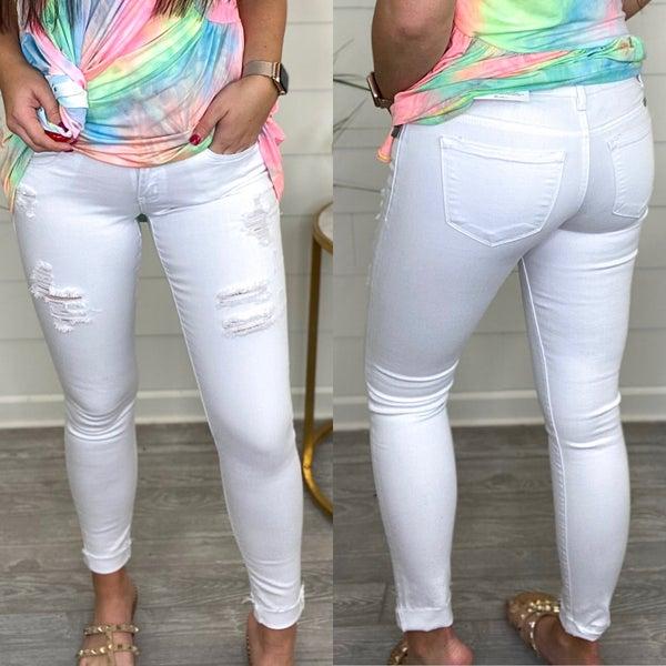 Miranda Low Rise KanCan Skinny Jeans - FINAL SALE