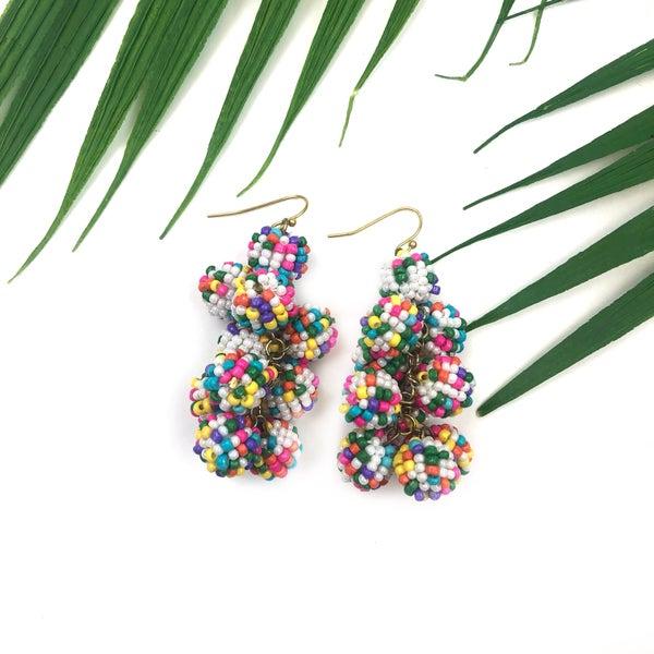 Mardi Gras Fun Earrings *Final Sale*
