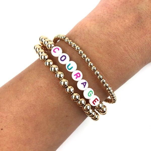 Inspiration Bracelets *Final Sale* - Courage