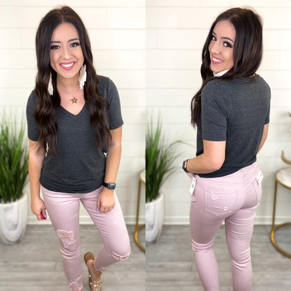 When Spring Arrives Joggers - Blush