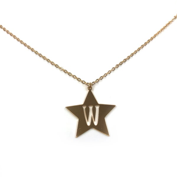 Initial Star Necklace *Final Sale*