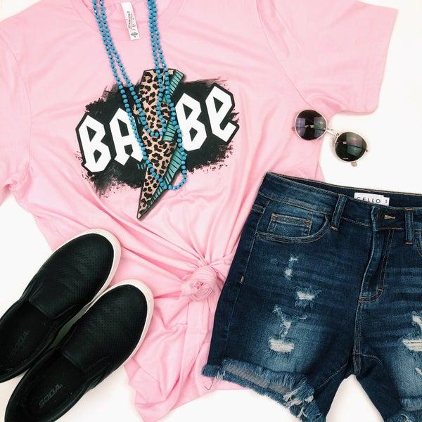 Babe Lightning Bolt T-Shirt