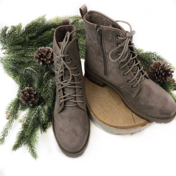 Walk This Way Combat Boots - FINAL SALE
