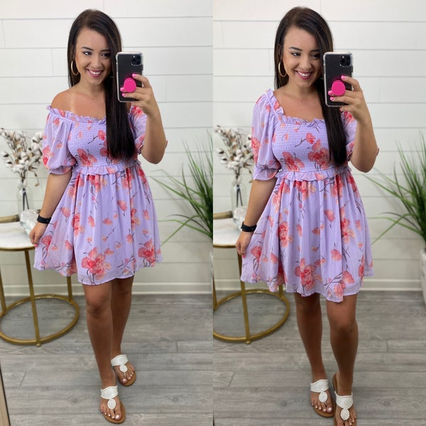 Let's Go Brunch Floral Dress- FINAL SALE
