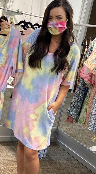 Tie Dye Summer Dress - FINAL SALE