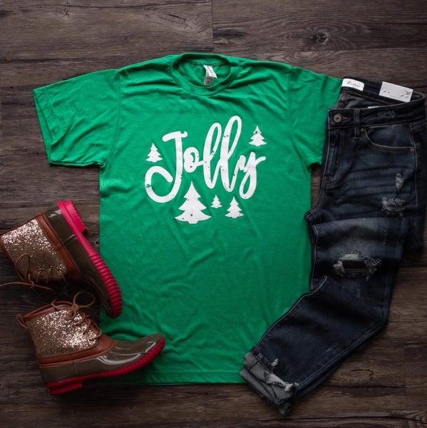 Jolly Christmas T-Shirt *Final Sale*