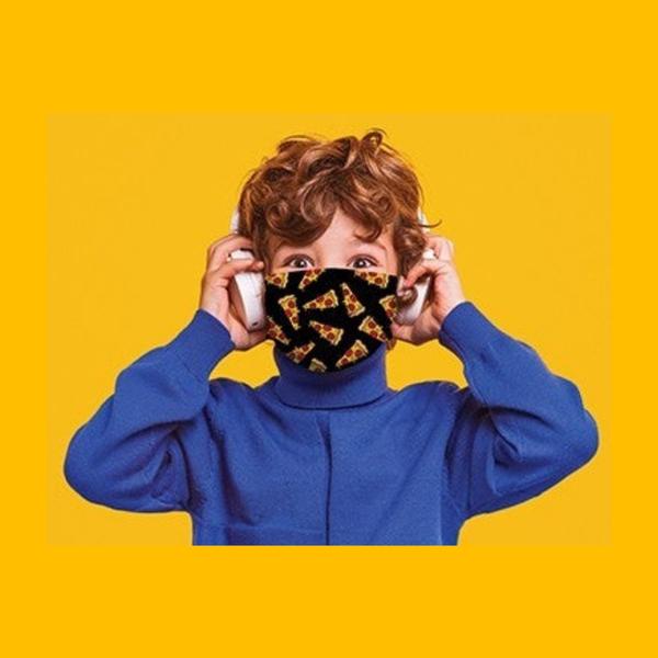 Kids Pattern Cotton Mask *Final Sale*