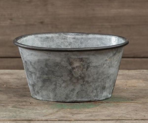 Oval Metal Pot *Final Sale*