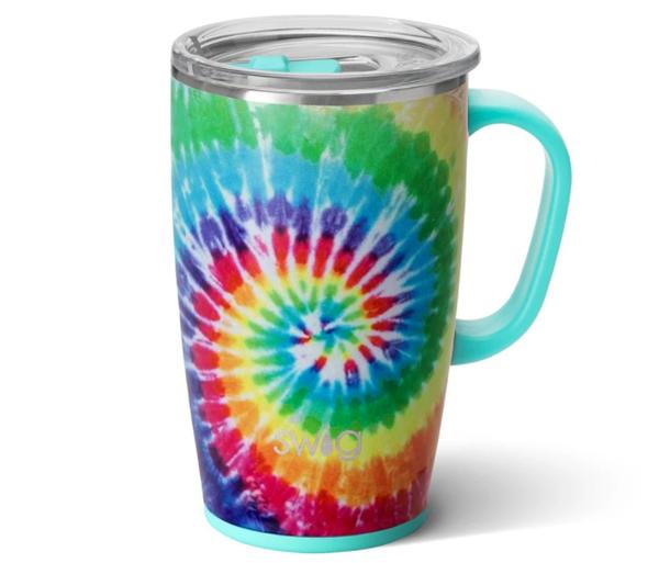 Swirled Peace Mug