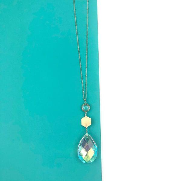 Stone Drop Necklace *Final Sale*