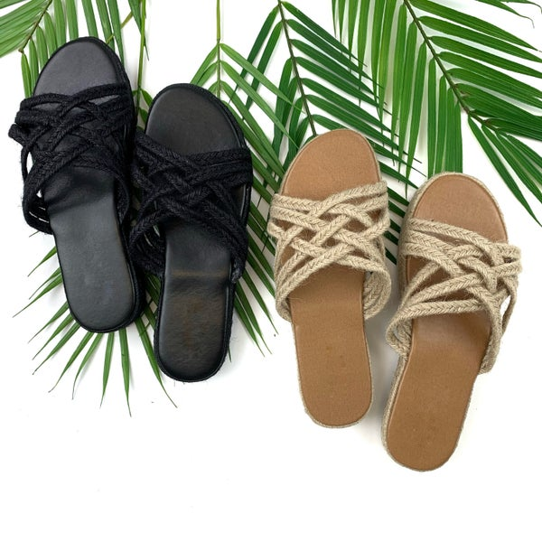 Make It Here Espadrille Sandals - FINAL SALE