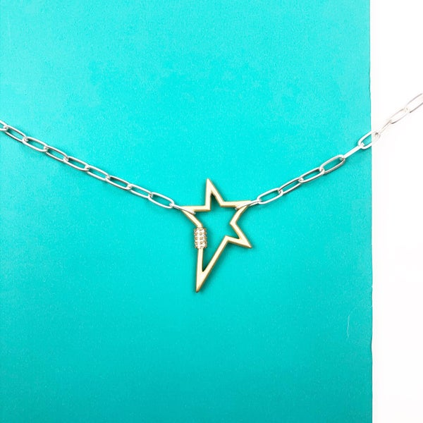 No Stopping Me Star Necklace