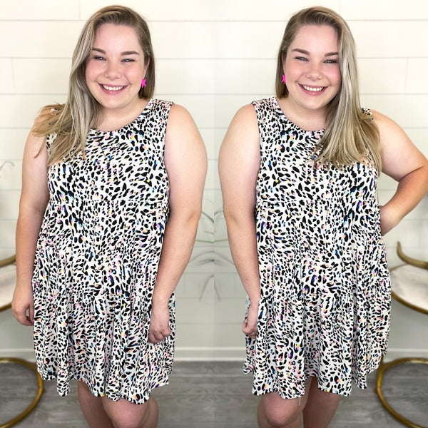 On My Wild Side Animal Print Dress