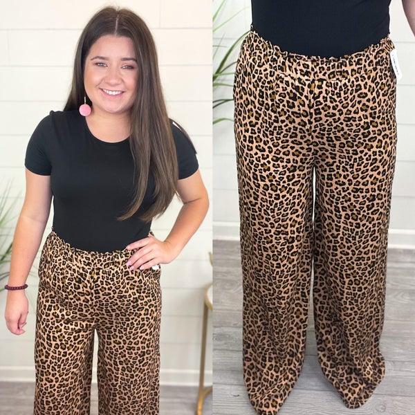 Feel The Love Animal Print Pants