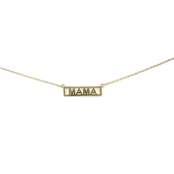 Mama Bar Necklace *Final Sale*