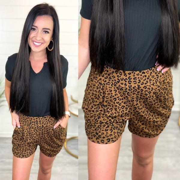 Dress It Up Cheetah Shorts