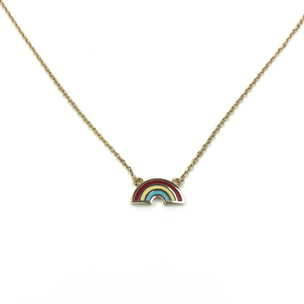 Dainty Rainbow Necklace *Final Sale*