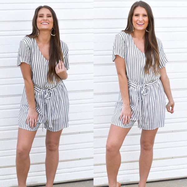 Get Ready For Summer Romper-FINAL SALE